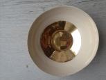 Keramická miska se zlatým dekorem
