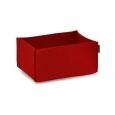 Obdélníkový košík Hey Sign červený