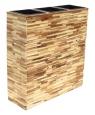 Květináč dřevěný - předělovací SUNIX H-6816091 73x28x70 cm