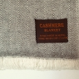 Kašmírová deka béžovo-hnedá