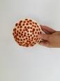 Keramická miska S červená