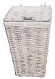 Koš na prádlo - Prádelní koš Sunix H-120154 L bílý  40x40x63
