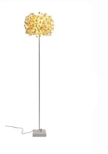 Designová stojací lampa White Space