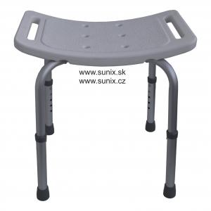 Stolička do sprchy s nastavitelnou výškou Sunix HH-247- sedátko do sprchy výškově nastavitelné