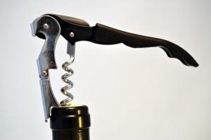Otvírák na víno číšnický (vývrtka) - dvoupolohový