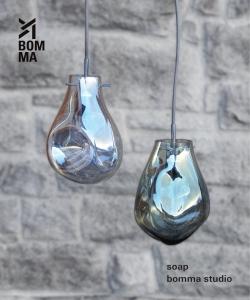 Soap Bommel svítidlo Blue velikost S