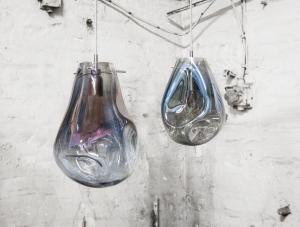 Soap Bommel svítidlo silver velikost L