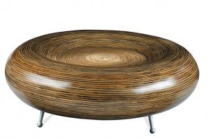 Konferenční stolek  kulatý  Marie