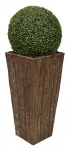 Květináč exotická kůra SUNIX H-6010297 S 55x25x25 cm S