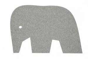 Koberec Slon šedý