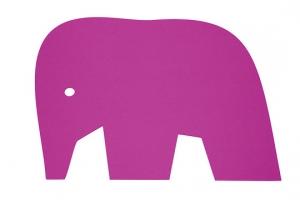 Koberec Slon růžový
